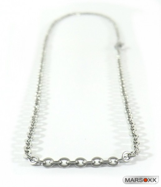 MARSOXX stainless steel necklace anchor chain subtly showy thin fine men lobster clasp high quality Optimization jewelry