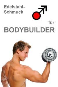 Schmuck Edelstahl Bodybuilder