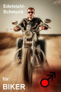 Schmuck Edelstahl Biker
