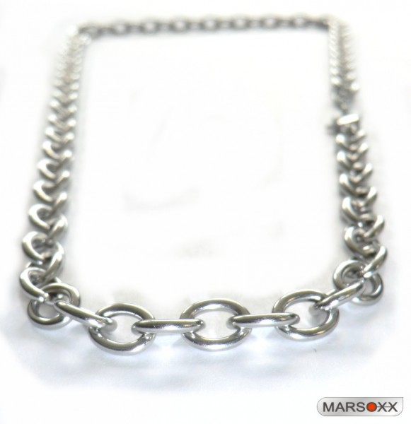MARSOXX stainless steel necklace anchor chain thick men lobster clasp high quality Transformation