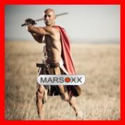 MARSOXX Edelstahl Schmuck Krieger Männer