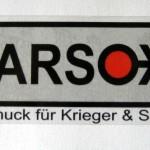 MARSOXX transparenter Aufkleber für drinnen und draußen