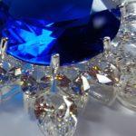 Zirkonias und Diamanten