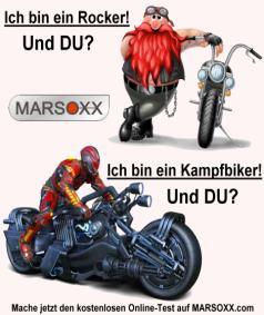 MARSOXX Biker Rockerclub Schmuck Ketten Persönlichkeitstest