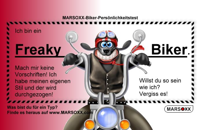 MARSOXX Biker Rocker Schmuck Freaky Biker