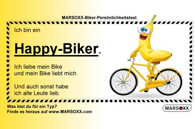 MARSOXX Biker Rocker Schmuck Happy-Biker