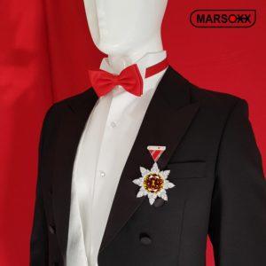 Zirkonia Schmuck Orden Herren MARSOXX HonorRuby